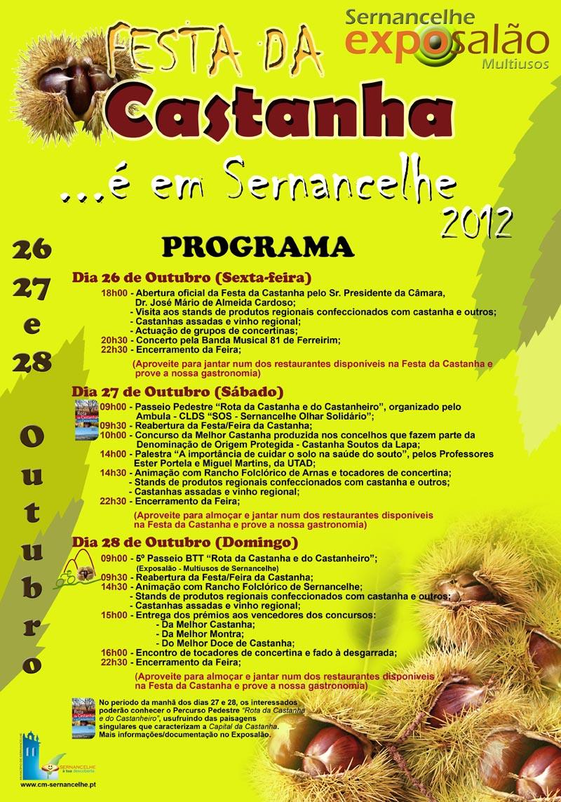 Festa da Castanha 2012 - Exposalão Sernancelhe