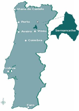 sernancelhe mapa Como Chegar sernancelhe mapa